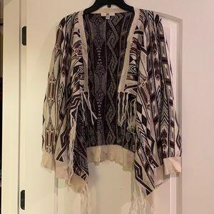 Ya OS Aztec print sweater